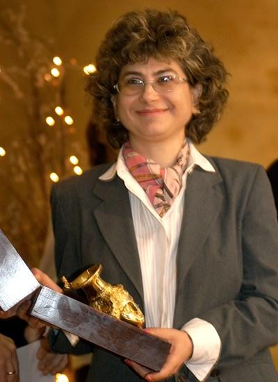 Светломира Ковачева получава златен ритон през 2004 г.