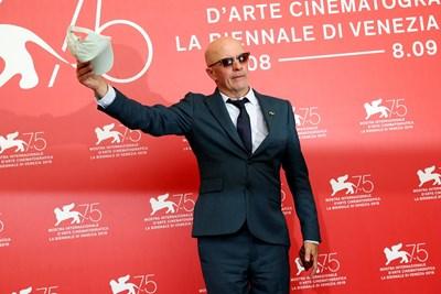 Френският режисьор Жак Одиар на кинофестивала във Венеция Снимки: Ройтерс