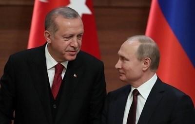 Президентът на Руската федерация Владимир Путин изпрати телеграма на турския си колега Реджеп Тайип Ердоган СНИМКА: Ройтерс