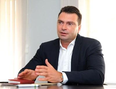 Калоян Паргов  СНИМКА: Пресцентър на БСП-София