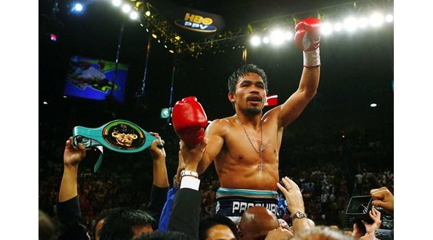 """Легендата Мани каза """"сбогом"""" на бокса, за да се кандидатира за президент на Филипините"""