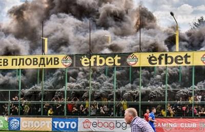 """Вместо да палят стадиони феновете на """"Ботев"""" ще попиват култура."""