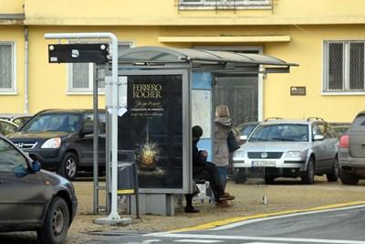 В София има над 2600 спирки на градския транспорт