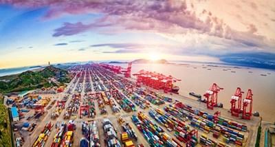 Вносът, износът и общият обем на китайската търговия с нов рекорд през първото тримесечие