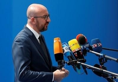 Има опасност документът, договорен под егидата на ООН, да доведе дори до падане на белгийското коалиционно правителство на либерала Шарл Мишел. Снимка РОЙТЕРС