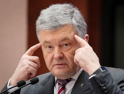 Украинският президент Петро Порошенко СНИМКА: РОЙТЕРС