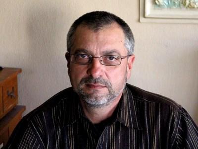 Шефът на РИМ във Враца Георги Ганецовски. Снимки на автора.