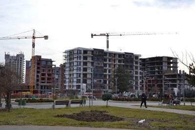 """Строителите в Кърджали предпочитат централната градска част или квартал """"Възрожденци"""". СНИМКА: Ненко Станев"""