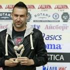 Камбуров има куп награди в българския футбол