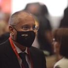 Президентът на ПЕС Сергей Станишев влезе в ръководството на конгреса на БСП, тъй като е бил лидер и премиер, а форумът е юбилеен 50-и. СНИМКИ: Йордан Симеонов