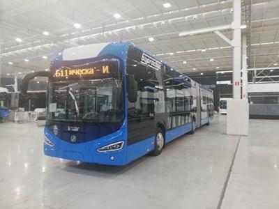 Така ще изглеждат новите електрически автобуси на Бургас.