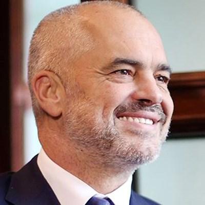 Албанският премиер Еди Рама. СНИМКА: ФЕЙСБУК