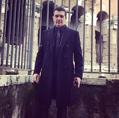 Антонио Бандерас СНИМКА: Инстаграм