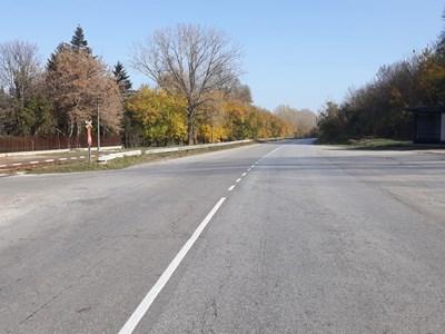 Пътищата край Дунав вече са с опреснена маркировка.