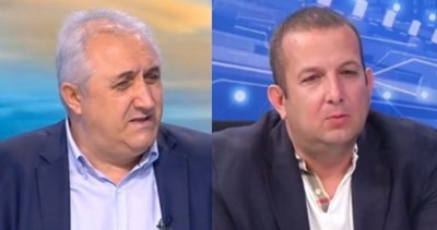 Мехмед Дикме (вляво) и Светослав Илчовски. Кадри Би Ти Ви