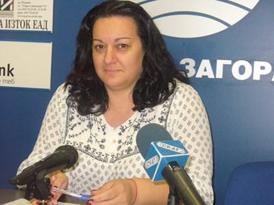 Теодора Крумова, председател на РИК в Стара Загора СНИМКА: Ваньо Стоилов