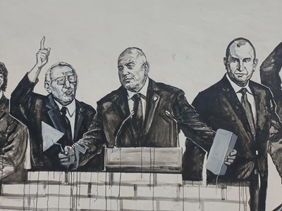 Тодор Живков, Бойко Борисов и Румен Радев.