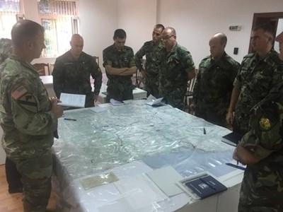 СНИМКИ: Пресцентър на Министерството на отбраната