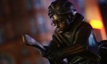 Издигнаха паметник на Хари Потър в Лондон (Снимки)