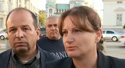 Родителите на Дарина Ваня и Георги Министерски