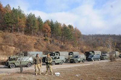 НАТО увеличава патрулите си на границата на Косово със Сърбия СНИМКА: РОЙТЕРС/Архив