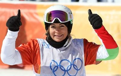 Сани завърши шеста в един от най-трудните спортове бордъркроса при сноубордистките СНИМКИ: Костадин Андонов