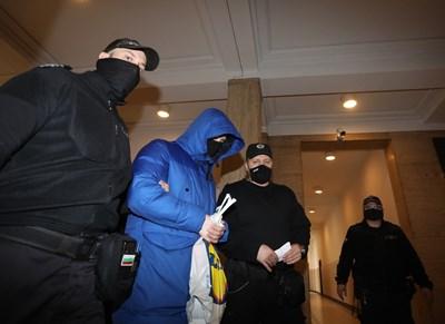 Кристиан Николов в съда  СНИМКА: НИКОЛАЙ ЛИТОВ