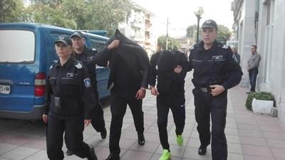 "Тодор Давидов-Гринго и Стефан Сливков СНИМКИ: ""24 часа"""