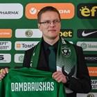 Дамбраускас се изправя за първи път срещу ЦСКА