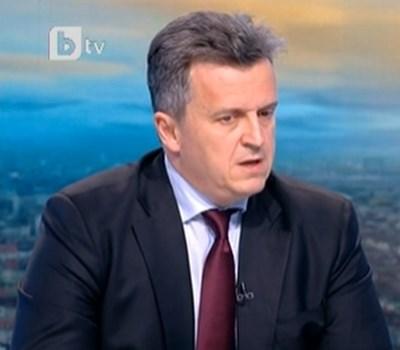 """Изпълнителният директор на """"Булгаргаз"""" Николай Павлов  КАДЪР: БТВ"""
