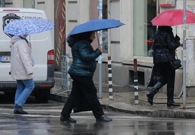Над Западна България ще има превалявания от дъжд