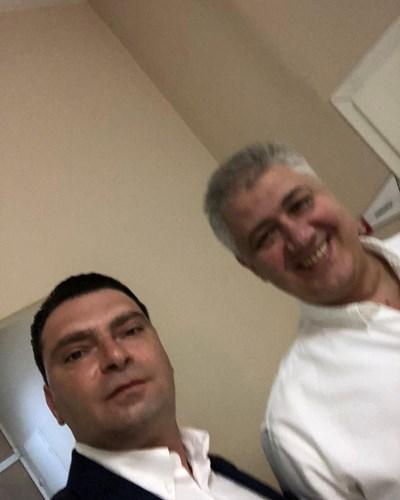 Калоян Паргов и проф. д-р Асен Балтов СНИМКА: Фейсбук/Калоян Паргов