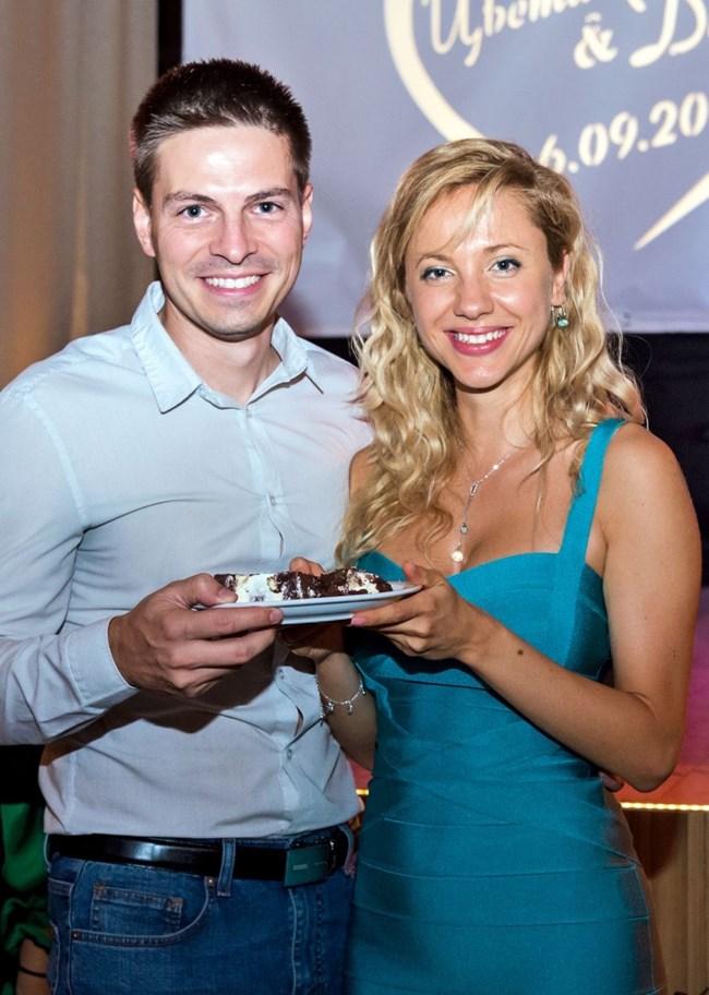 Йоана със съпруга си Евгени Стефанов