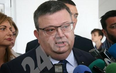 Главният прокурор Сотир Цацаров СНИМКИ: Евгени Цветков СНИМКА: 24 часа