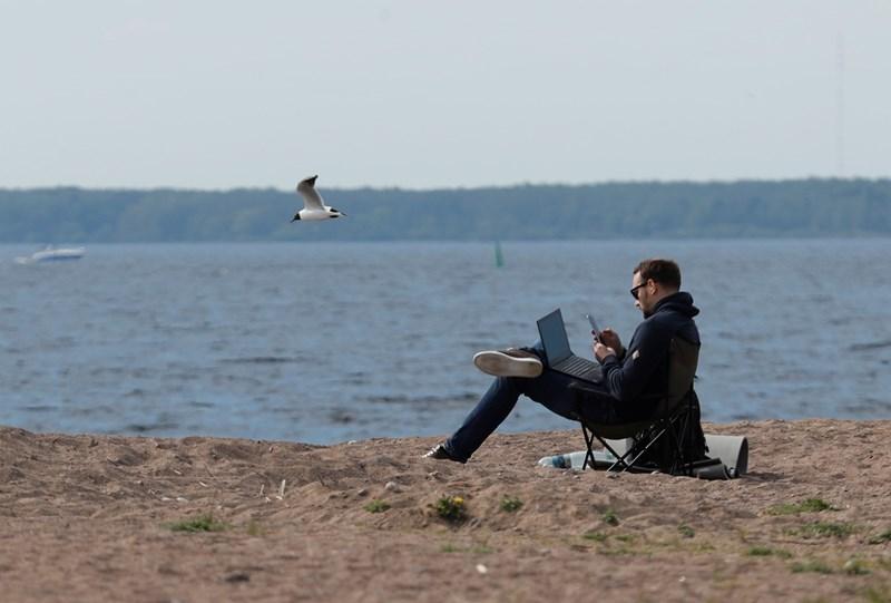 С наближаване на летния сезон все повече хора се опитват да договорят с шефовете си продължаване на дистанционната работа.