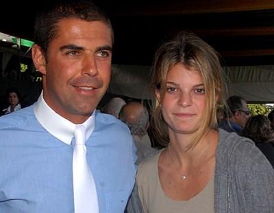 d1feed7dfc9 Атина Онасис със съпруга си - бразилеца Алваро де Миранда Нето СНИМКА:  РОЙТЕРС