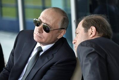 Владимир Путин се подмладявал с бани с кръв от еленови рога. СНИМКА: РОЙТЕРС