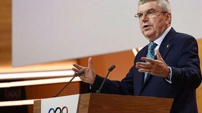 Президентът на МОК Томас Бах СНИМКА: bulgarian.cri.cn