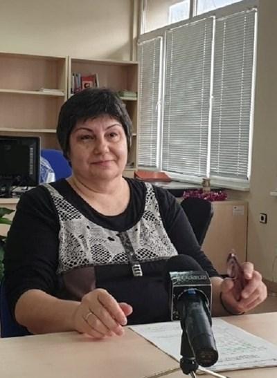 Главен инспектор Павлина Терзийска. Снимка на автора.