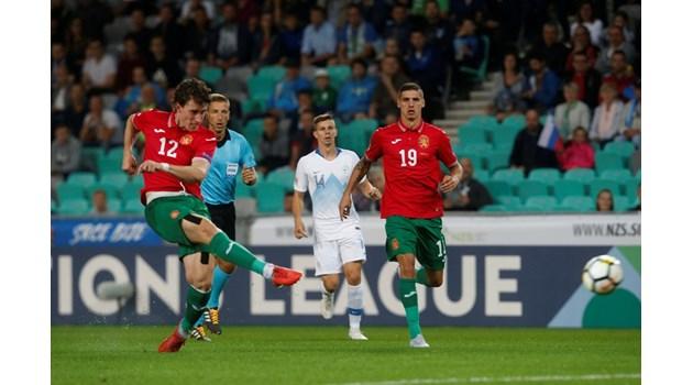 България тръгна с победа в Лигата на нациите след два гола на Краев