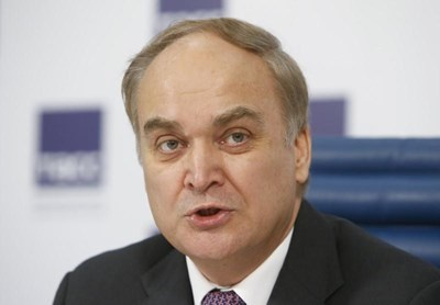 Посланикът на Русия в САЩ Анатолий Антонов  СНИМКА: Ройтерс