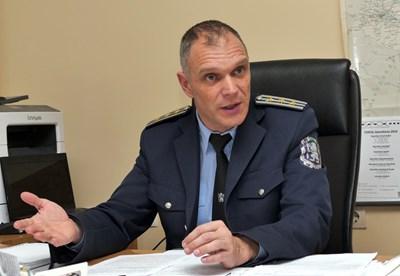 Комисар Росен Рапчев СНИМКА: Пиер Петров