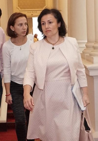 Земеделският министър в парламента представи информация за ситуацията с чумата по свинете СНИМКА: Десислава Кулелиева