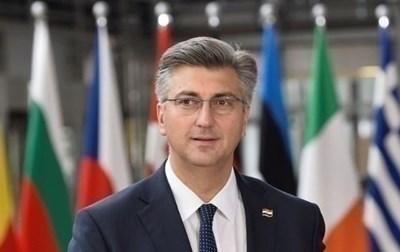 Хърватският премиер Андрей Пленкович СНИМКА: Ройтерс