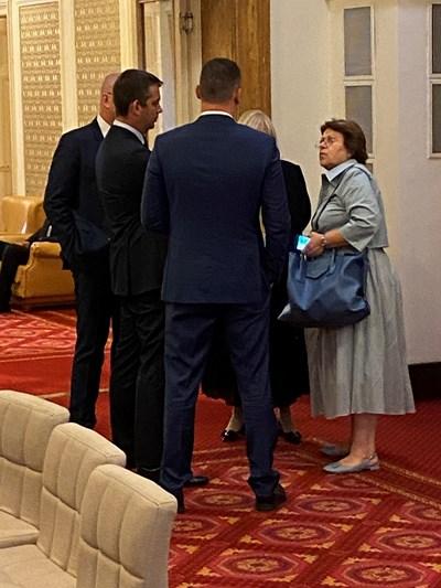 Татяна Дончева откри парламента с маркова чанта за близо 4 хил. лв.