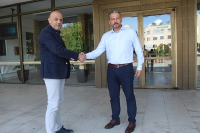 Томислав дончев се срещна с кмета на Севлиево д-р Иван Иванов