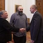 """Президентът Румен Радев се срещна в сряда на """"Дондуков"""" 2 с творците и общественици Даниела Кузманова и Венцислав Мицов."""