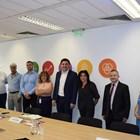 Членовете на Потребителския съвет към ЧЕЗ.