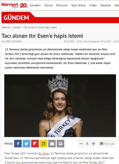 Факсимиле: hurriyet.com