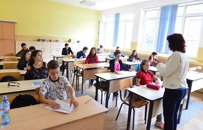 Учителите искат да се намали  административната им работа. СНИМКА: Йордан Симеонов